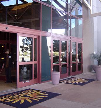Commercial Door With Window